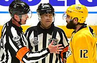 Мэтт Мюррей, НХЛ, судьи, Кевин Поллок, видео, Евгений Малкин, Колтон Сиссонс, Питтсбург, Нэшвилл