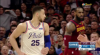 Ben Simmons Posts 27 points, 13 assists & 15 rebounds vs. Cleveland Cavaliers