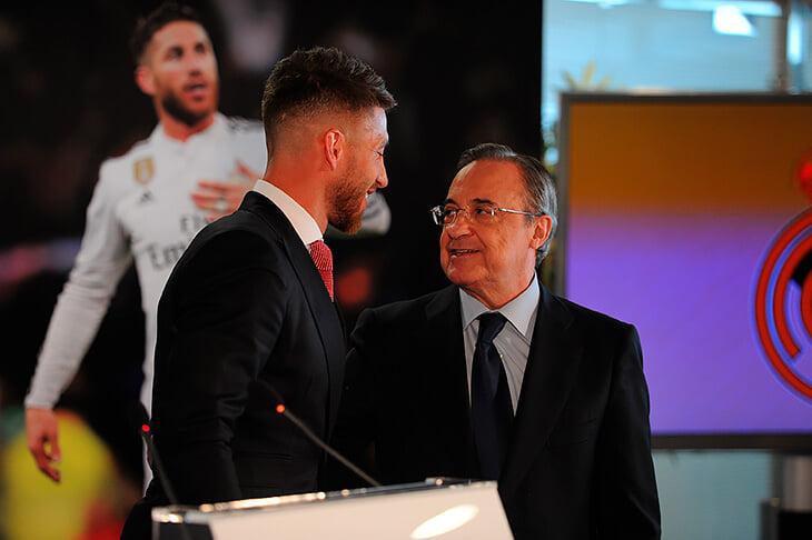 Все, Рамос ушел из «Реала»! У него с Пересом очень странные отношения: Серхио выбивал новые контракты, Флорентино устраивал медиавойны