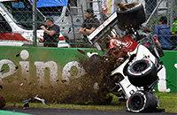 Монца, Гран-при Италии, видео, Заубер, Формула-1, происшествия, Маркус Эрикссон
