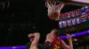 Derrick White attacks the rim!