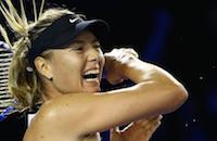 Мария Шарапова, Анна Чакветадзе, Серена Уильямс, Владас Ласицкас, Australian Open, WTA