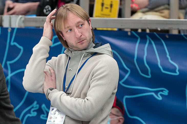 Первый тренерский сезон остудил Евгения Плющенко: прогресс только у одной фигуристки, две уже сбежали – и пока от него никакой рефлексии