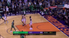 Marcus Morris nails it from behind the arc