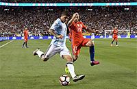 детский футбол, Николас Отаменди, сборная Чили, Кубок Америки, сборная Аргентины