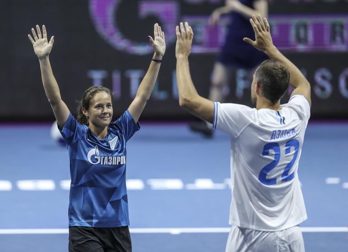 Дзюба обожает теннис и Федерера. Из-за «Роджика» в этом году чуть не опоздал на тренировку