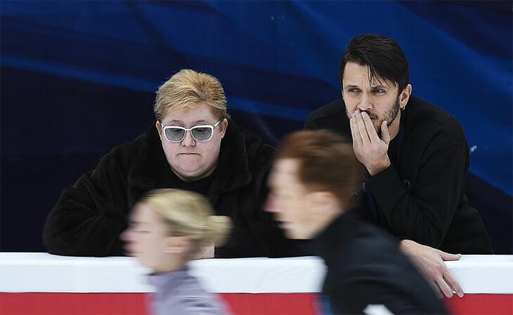 «Напоминаю Тарасовой и Морозову, что они выиграли короткую на Олимпиаде». Марина Зуева – о шоу и тренировках с хоккеистом