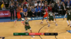 Giannis Antetokounmpo rattles the rim on the finish!