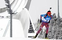 Чемпионат мира: Гараничев преследует Фуркада и Бьорндалена