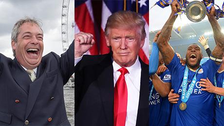 «Лестер», Брексит, Трамп. Самые громкие провалы букмекеров 2016 года