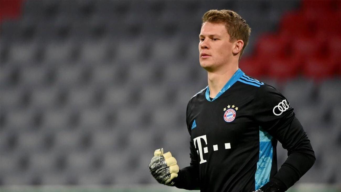 Нюбель уйдет в аренду в Монако на 2 года. Вратарь провел 1 матч в Бундеслиге после перехода в Баварию