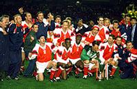 Арсенал, фото, Иан Райт, Парма, Алан Смит 1962, Джордж Грэм, Тони Адамс, Ли Диксон, премьер-лига Англия