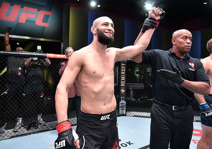 Холланд – главный болтун UFC: шлепает соперников, превращает бои в стендап, а сегодня звал Хабиба на помощь