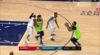 Karl-Anthony Towns gets the And-1