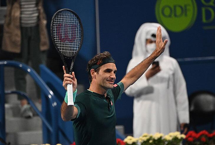Федерер вернулся после двух операций на колене! Играл мощно и творчески, но скорости пока не хватает