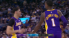 Lonzo Ball with 11 Assists  vs. Golden State Warriors