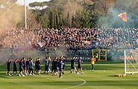 На тренировку «Ромы» после дерби пришли 3 тысячи болельщиков