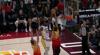 Rudy Gobert rises to block the shot