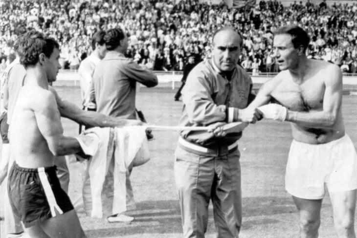 Англичане не пустят фанов соперника на «Уэмбли». В 66-м они тоже хитрили: унижали туристов и катали договорняки