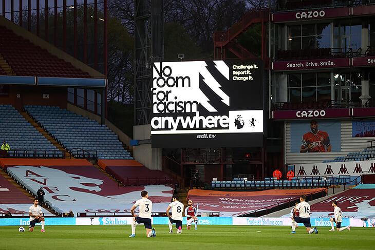 Британские клубы, лиги и игроки отказались от соцсетей на 4 дня (из-за расизма и оскорблений). Их поддержали ФИФА и УЕФА