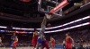 Jimmy Butler rattles the rim on the finish!