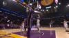 LeBron James with the hoop & harm
