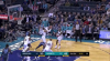 Malik Monk goes up to get it and finishes the oop