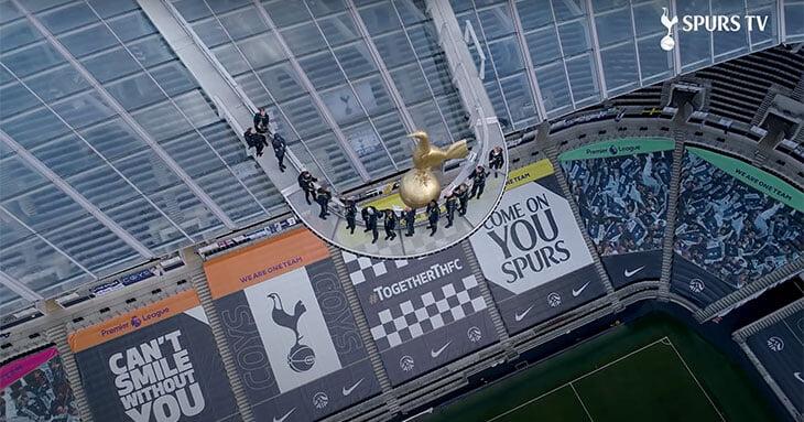 Я забралась на крышу стадиона «Тоттенхэма». Моуринью предлагает проводить здесь переговоры с агентами