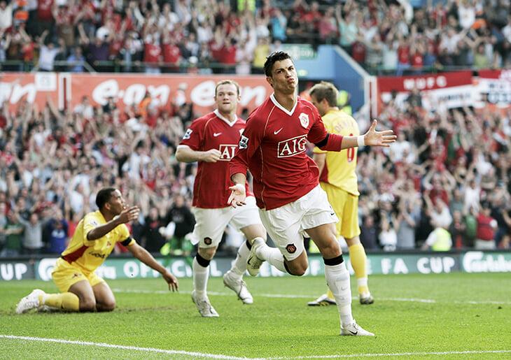 Как «Манчестер Юнайтед» сделал Криштиану Роналду суперфорвардом