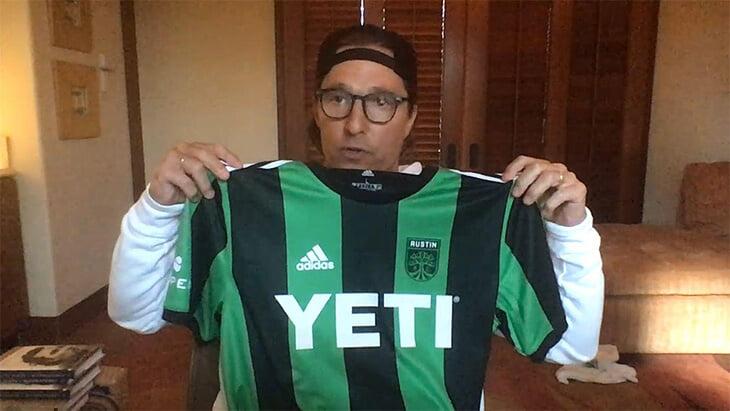 Мэттью Макконахи – самый нетипичный владелец футбольного клуба
