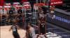 Derrick Jones Jr. rocks the rim