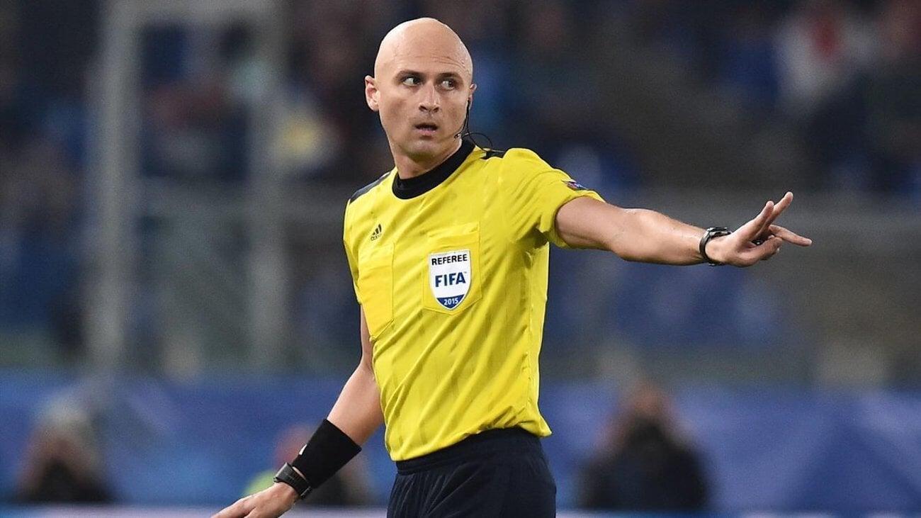 Карасев назначен на матч Италия  Швейцария