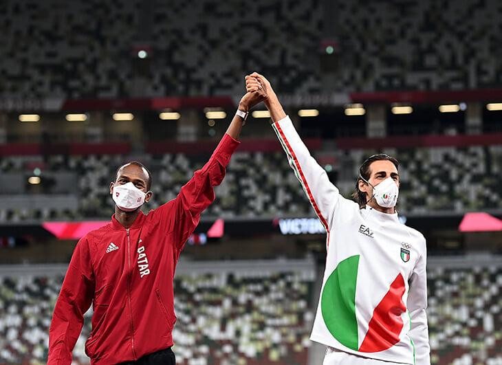 «Мы можем получить две золотые медали?» Исторический диалог прыгунов в высоту на Олимпиаде