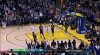 Stephen Curry with the nice dish vs. the Timberwolves