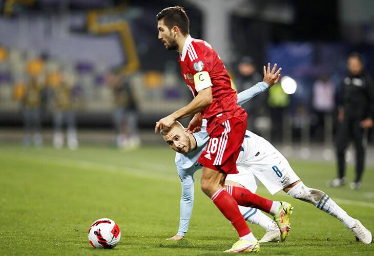 Обыграли Словению с капитаном Суторминым. Он вывел команду через 3 дня после дебюта – круче только Черчесов (но с оговоркой)