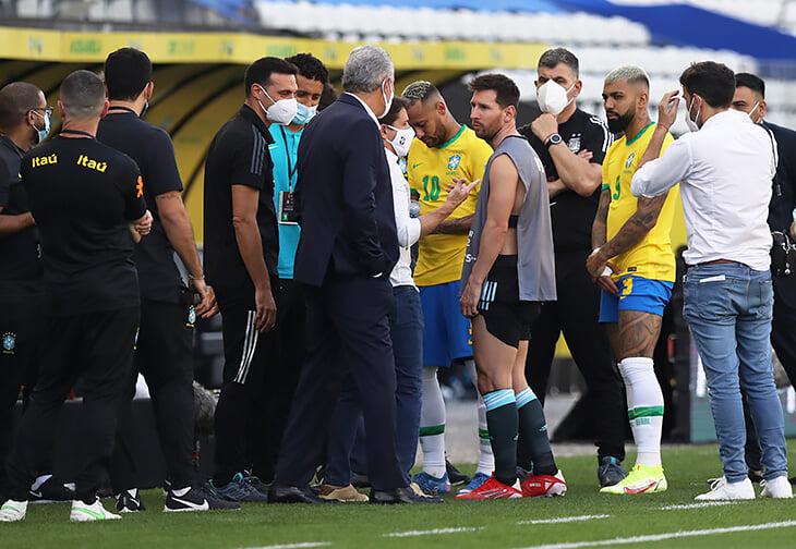 «Мы в стране три дня. Почему вы ждали начала игры?» Месси и остальные бесятся из-за срыва матча Бразилия – Аргентина