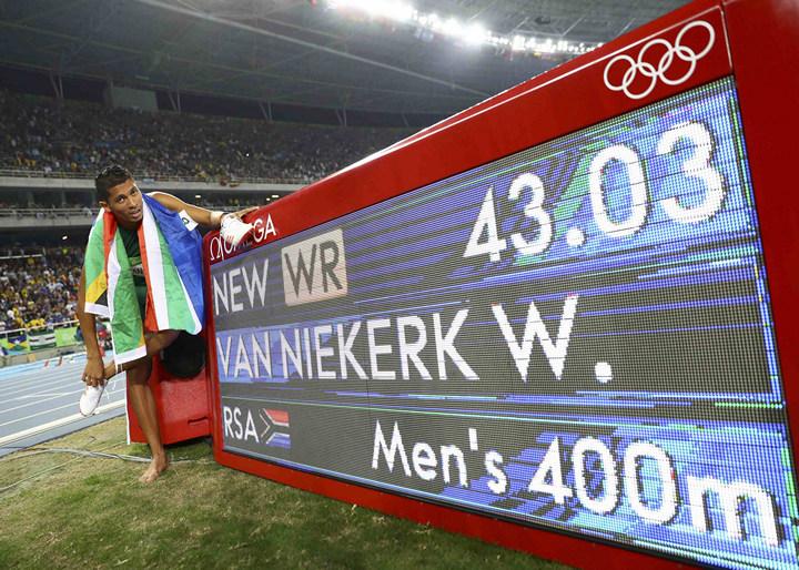 бег, рекорды, Рио-2016, Уэйд ван Никерк