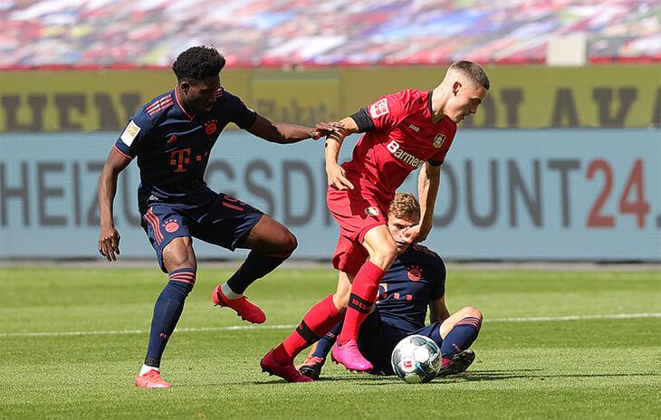 Школьник из «Байера» забил «Баварии» самый молодой гол Бундеслиги