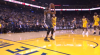 Stephen Curry sets up the nice finish