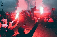 высшая лига Польша, Лех, Легия, болельщики, Rytai