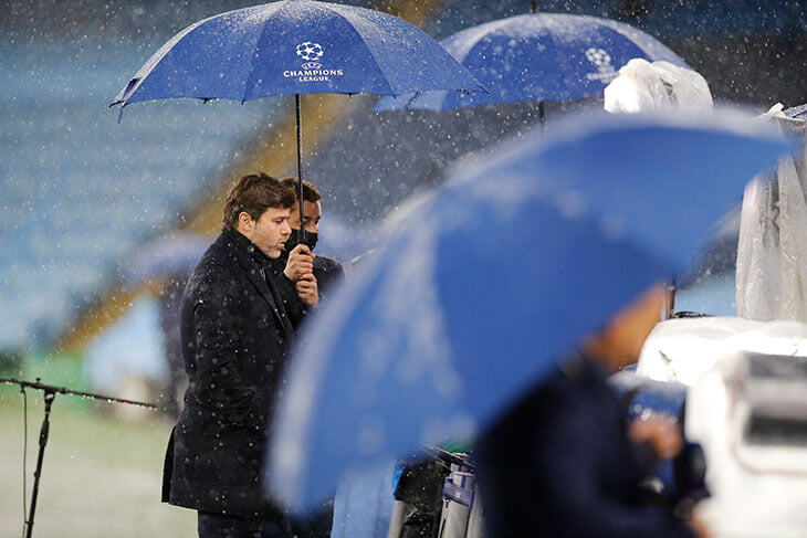 ❄️4 мая, Манчестер, полуфинал ЛЧ, снег! В англоязычном твиттере шутят про Москву и ЦСКА