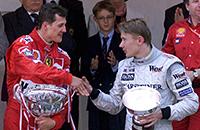 Мика Хаккинен, Феррари, Макларен, Михаэль Шумахер, Формула-1
