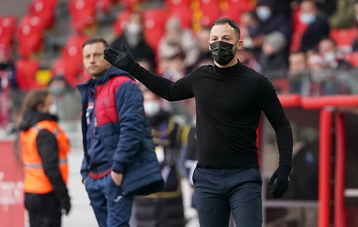 «Спартак» измучил фланги ЦСКА, а Соболев доминировал в штрафной, но все решила контратака. Кажется, тройка призеров определилась