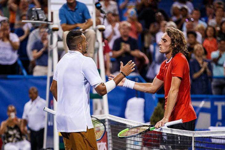 Кириос + Циципас = 👍. Их броманс – лучшее, что было в теннисе после «Уимблдона»