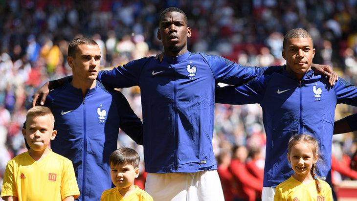 ЧМ-2018, Сборная Франции по футболу