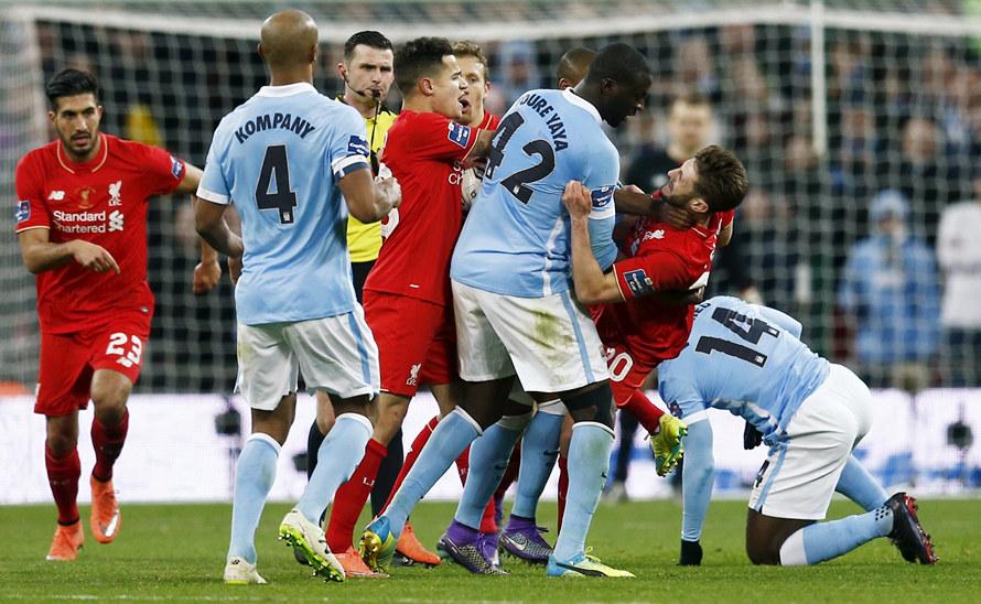 Картинки по запросу Ливерпуль — Манчестер Сити