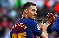 видео, Ла Лига, Барселона, Томас Вермален