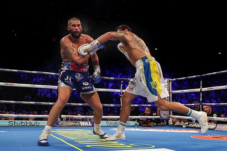 Усик слишком техничный и высококлассный боксер для Чисоры. Но Дерек очень жесткий: у него есть шанс на лаки-панч