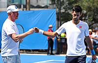 Роджер Федерер, Новак Джокович, ATP, Борис Беккер