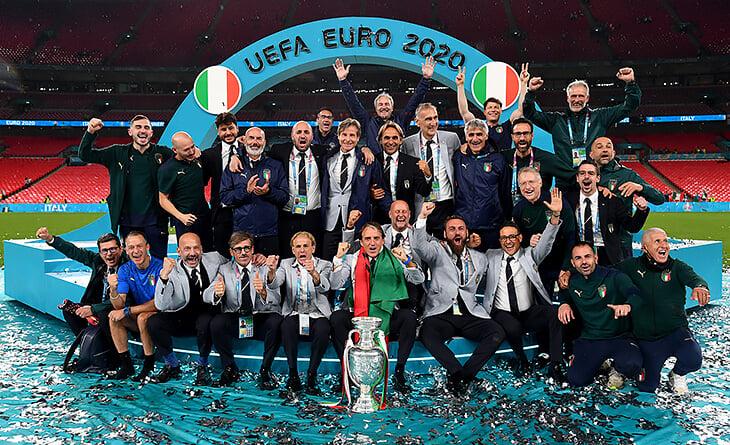 В 1992-м Манчини с друзьями проиграл на «Уэмбли» главный финал в карьере. Они не могли это забыть – а теперь там же взяли Евро